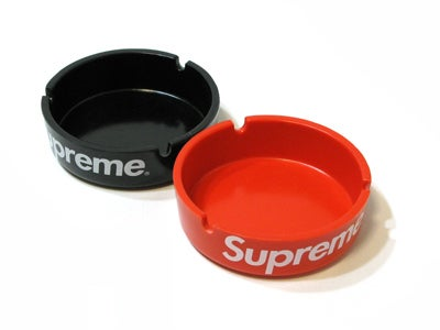 Image of Supreme Red Ashtray Plastic