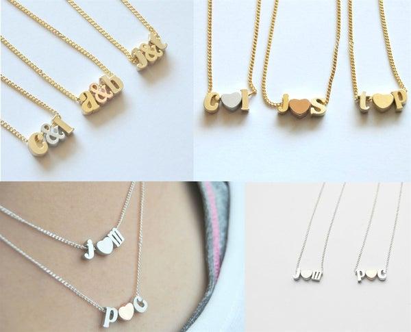 Image of Love Letter Necklace FLASH SALE