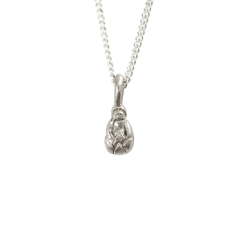 Image of Buddha Necklace 3D mini