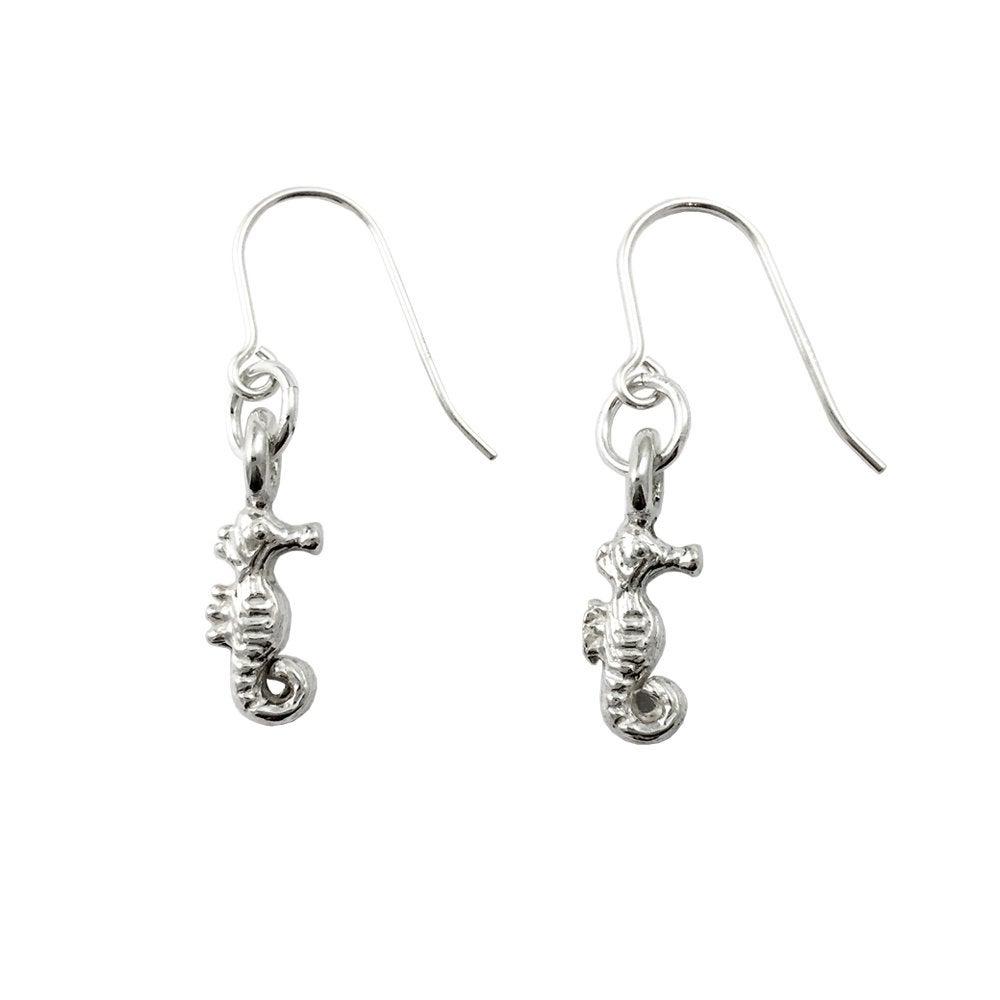 Image of Seahorse Earrings 3D mini