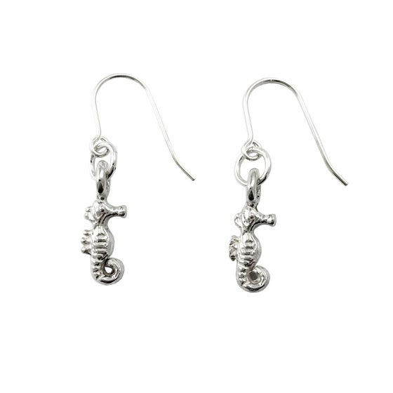 Image of Seahorse Earrings 3D mini