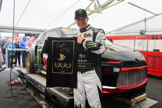 Image of Petter Solberg: Triple World Champion T-Shirt