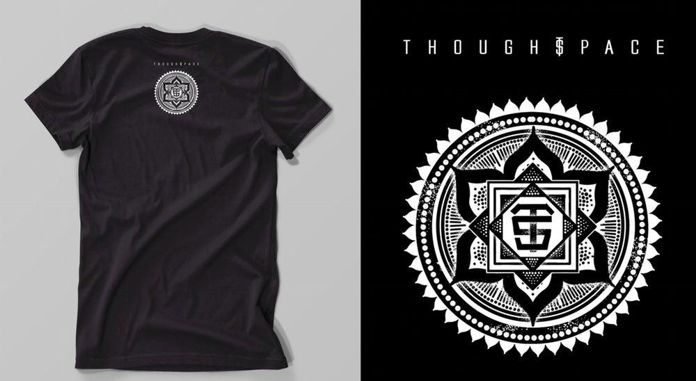 Image of Cosmic Logo Tee (Black & White)