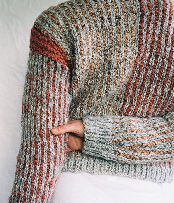 Image of Handspun Gotland Madder Root Jumper