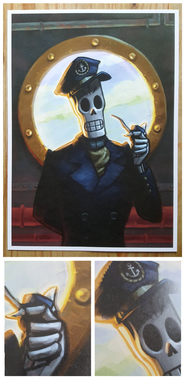 Image of Captain Calavera