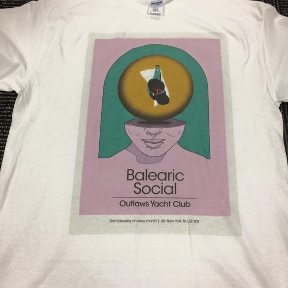 Image of Balearic Social Outlaws T Shirt