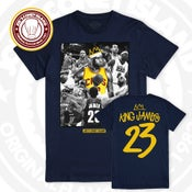 Image of Lebron James - King James - Navy