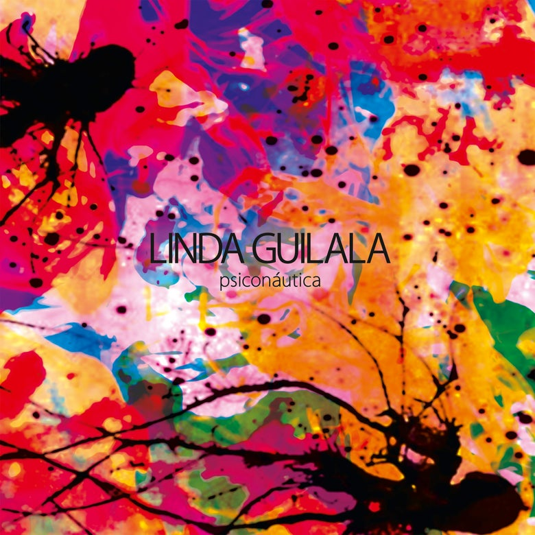 "Image of LINDA GUILALA - Psiconáutica (Limited red & clear 12"" vinyl w/MP3s + CD Digipak)"