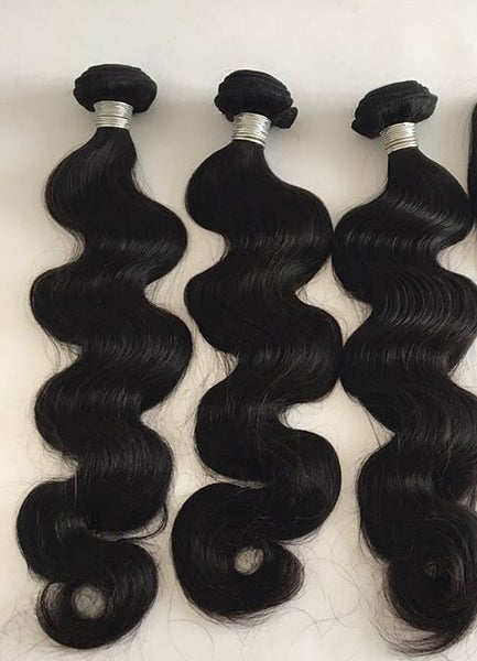 Image of Body Wave-8A -Color 1B - Brazilian & Indian