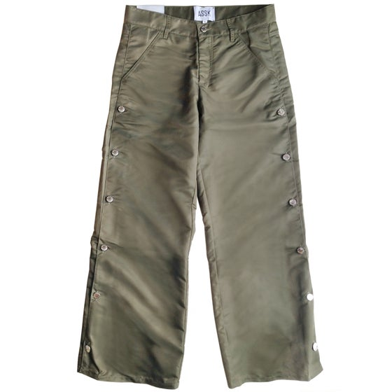 Image of BOLT Wide Leg Jeans - Khaki