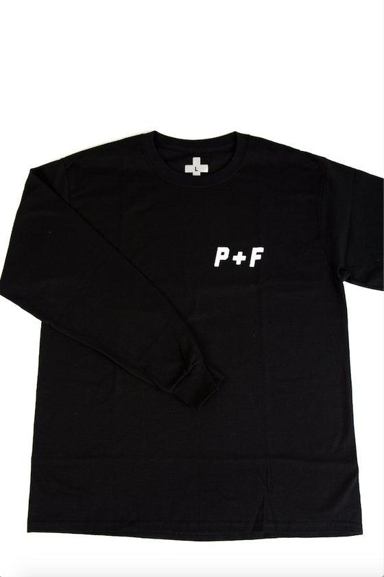 Image of P+F BUDGET TEE [LONG SLEEVE]