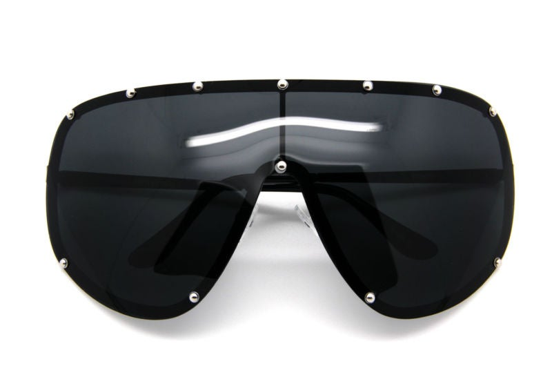 Image of Studded Wrap Sunglasses