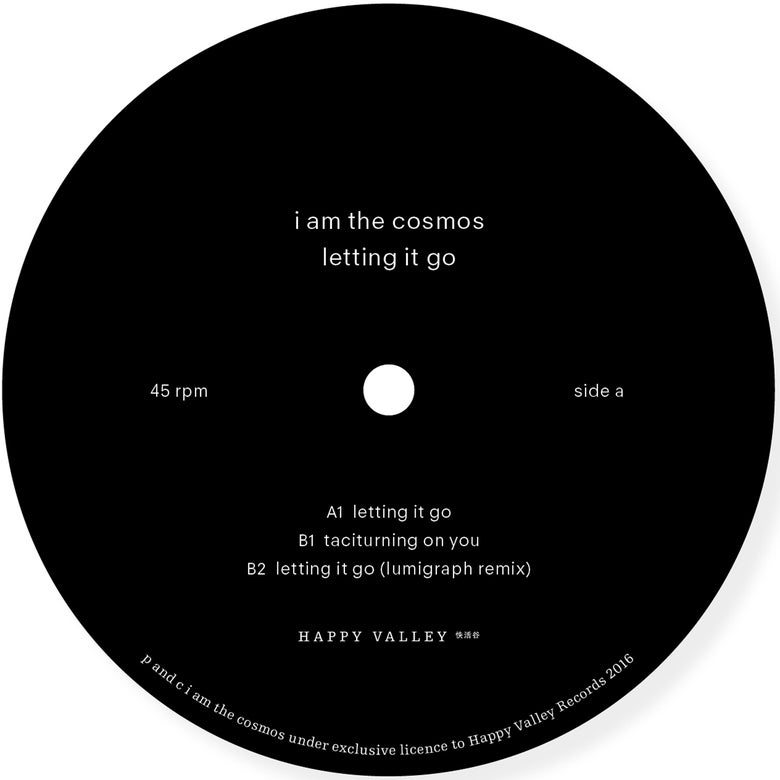 Image of i am the cosmos - Letting it go