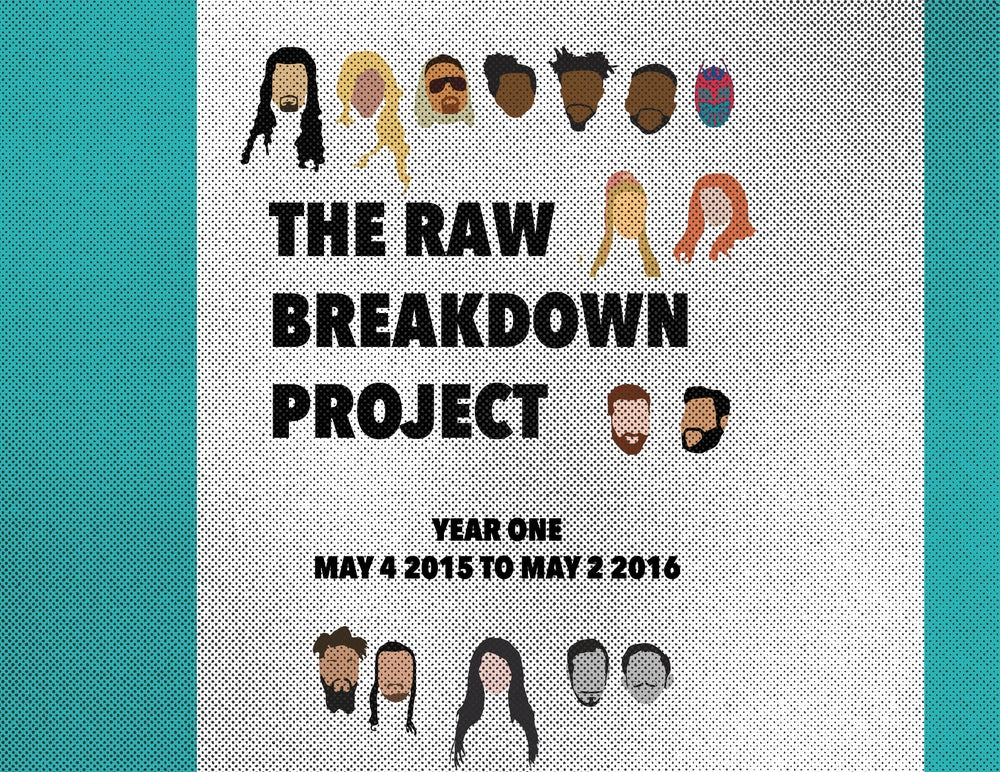 Image of RAW Breakdown Project Annual Report YEAR ONE **DIGITAL COPY**