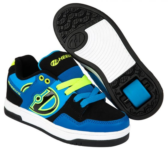 Image of Heelys Flow Royal Blue / Black / Lime