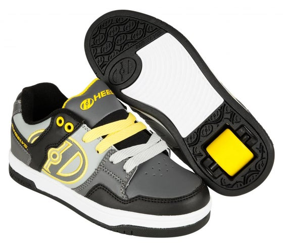 Image of Heelys Flow Black / Grey / Yellow