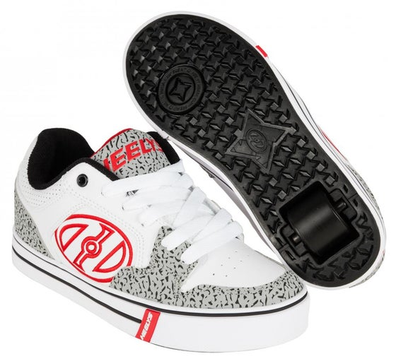 Image of Heelys Motion Plus White / Grey / Elephant