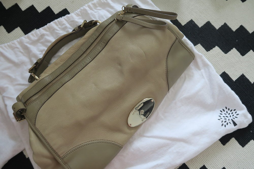 Image of Mulbery Taylor Bag - Olive