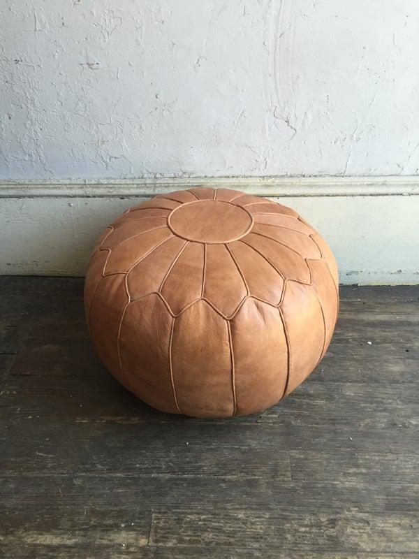 Image of Minda Home Stitched Pouf