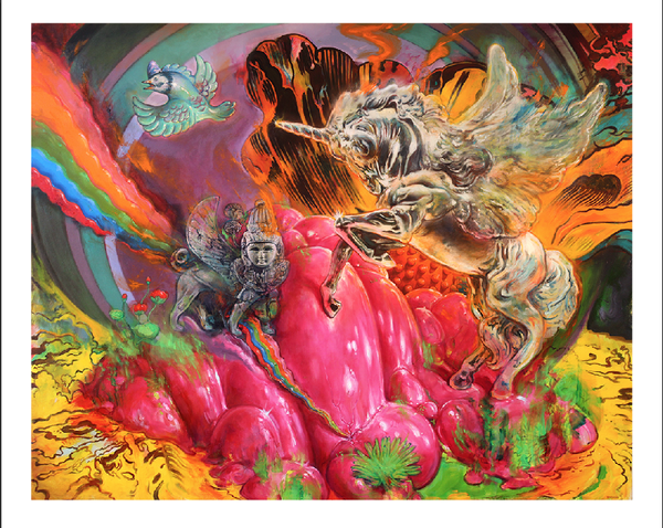 Image of Paradise Lost // Giclee Artist Print