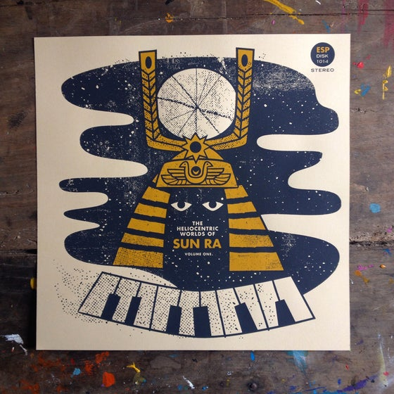 Image of Sun Ra - the heliocentric worlds of