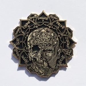 Image of 108 Gold Enamel Pin