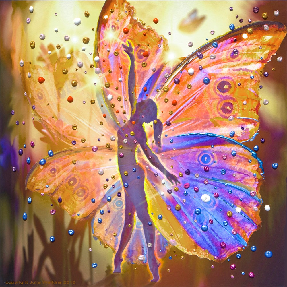 Image of The Wishing Fairy Energy Painting - Gicleee Print