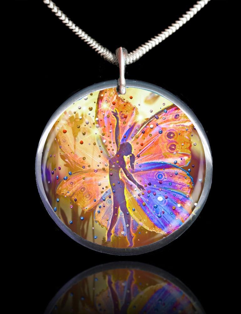 Image of The Wishing Fairy Magical Energy Pendant