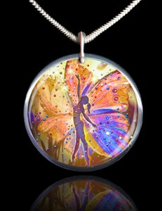 Image of The Wishing Fairy Magical Energy Pendant