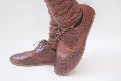 Image of Wingtip Derby - The Club in Tobacco Brown
