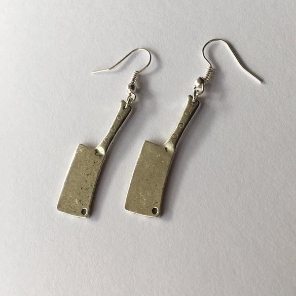 Image of Butcher Knife Earrings