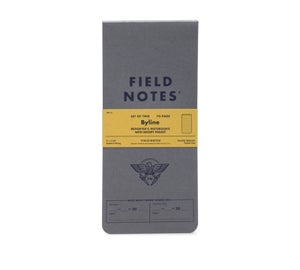 Image of Field Notes - Byline