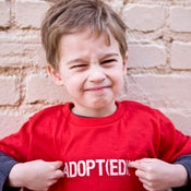 Image of Infant :: Adopt(ed) T-shirt