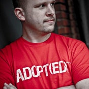 Image of Adult :: Adopt(ed) T-shirt