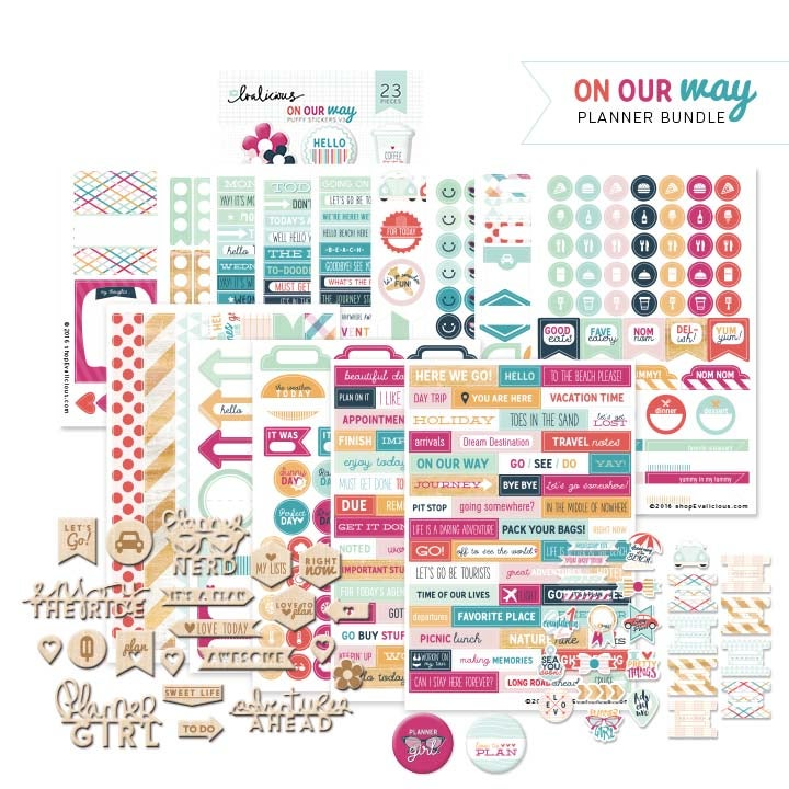Image of SALE - On Our Way Planner Bundle