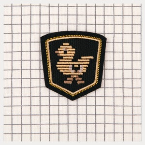 Image of Embroidered Patch Duck