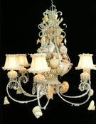 Image of Beautiful Boca Seashell Chandelier