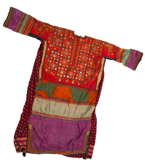 Image of Indian Mirrored Dress