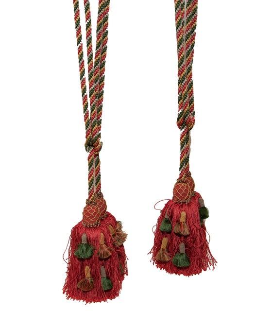 Image of Pair Scalamandre Tie Backs