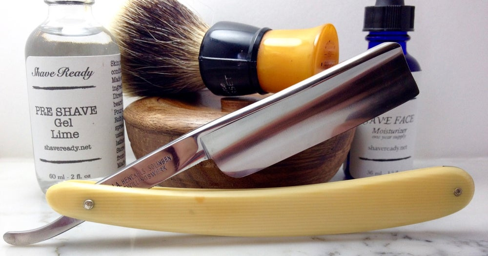 Image of Friodur 17 Henckels Stainless Steel Shave Ready Straight Razor