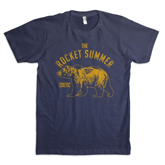 Image of Blue Bear Unisex Shirt + FREE US and CANADA SHIPPING