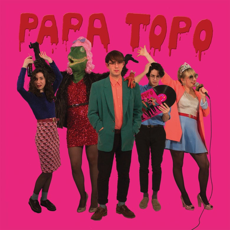 "Image of PAPA TOPO - Ópalo Negro (Limited 12"" Vinyl+MP3s / CD Digipak)"