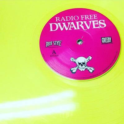 Image of Dwarves - Radio Free Dwarves Vinyl (Banned Neon Yellow EU Version)