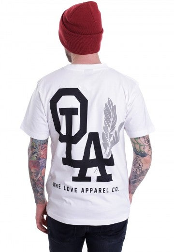 Image of [S7] OLA Tribe White T-Shirt