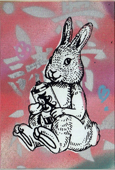 Image of bunny card 9