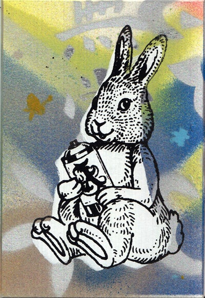 Image of bunny card 14
