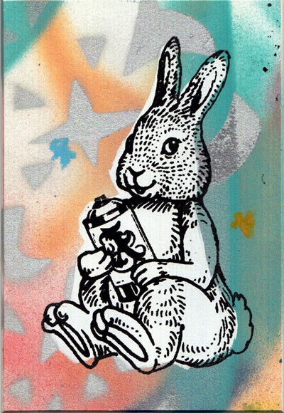 Image of bunny card 15