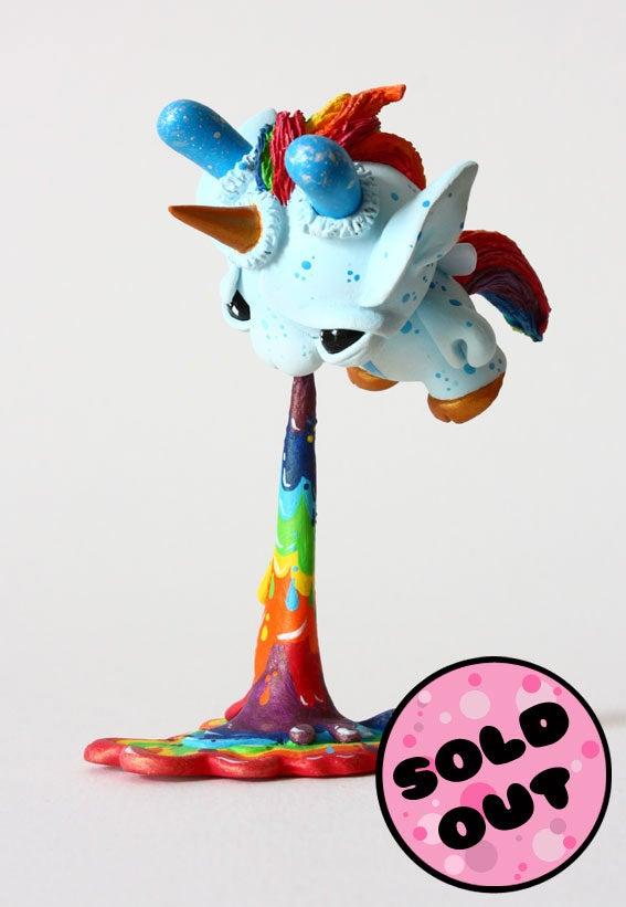 """Image of Splashes - Puking Fairycorn 3"""" Custom Dunny"""