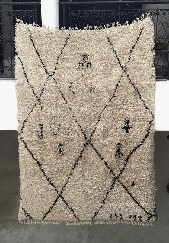 Image of R17-NICX - Beni Ouarain Rug