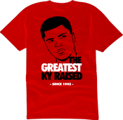 "Image of KY Raised ""Legends Series"" Greatest Tee in Red / Blk / White"